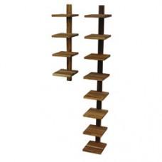 Pilaster Wall Shelf Teak